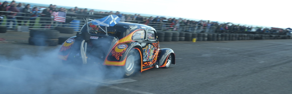 Scotland`s premier 1/4 mile Drag Strip